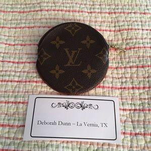 Louis Vuitton Round Coin